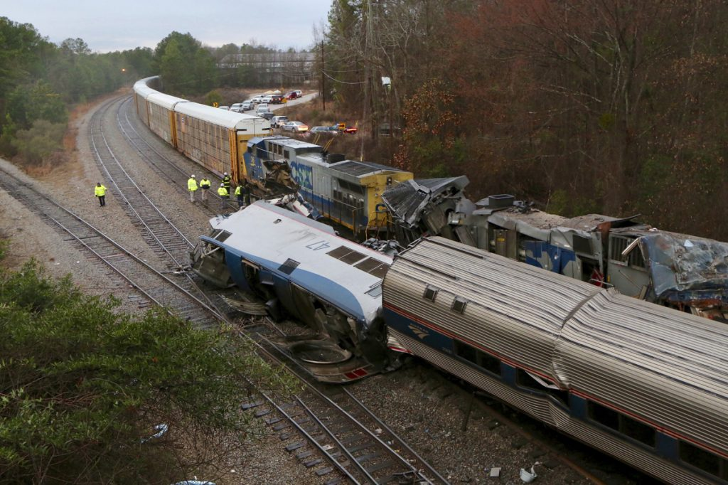 South Carolina Train Wreck Leaves at Least Two Dead, 70 Injured