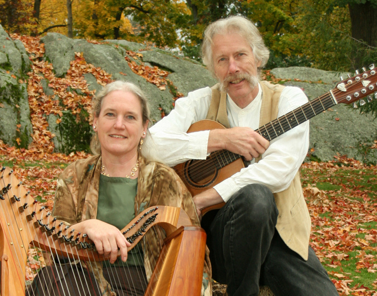 Castlebay members Julia Lane, left, and Fred Gosbee.