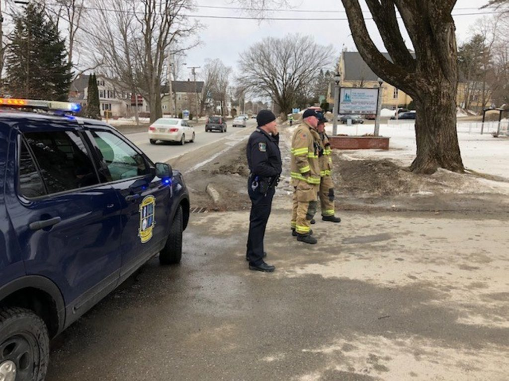 Waterville police, fire and rescue personnel responded to a bomb scare Thursday morning at the Maine Children's Home for Little Wanderers. The word