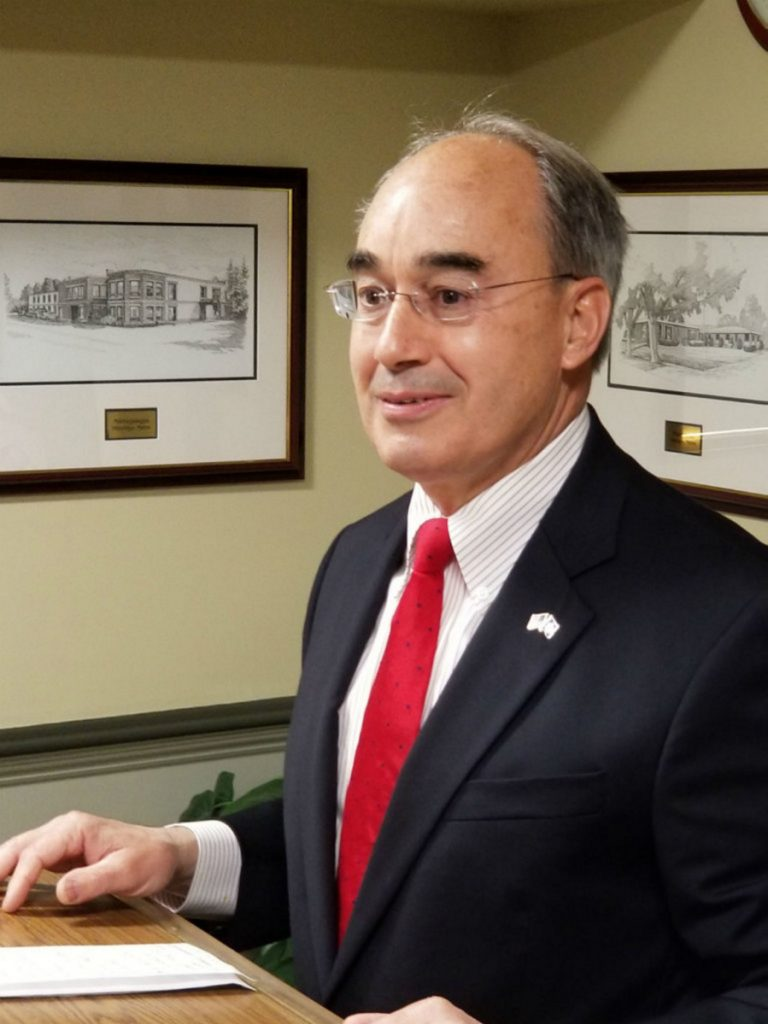 The results of a poll conducted by North Carolina-based Public Policy Polling finds U.S. Rep. Bruce Poliquin in a neck-and-neck race with a generic Democratic candidate.