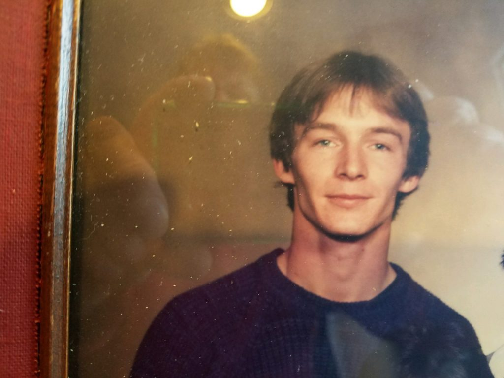 Gary Picard at about 20 years old. Picard's sister, Michelle Mosher, wondered why she was not called to help in a standoff between her 51-year-old brother and police less than 2 miles from her home.
