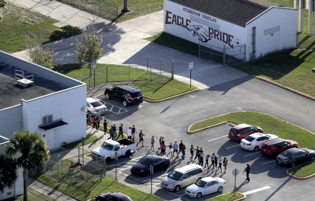 Several Broward deputies waited outside during Florida school shooting, report says