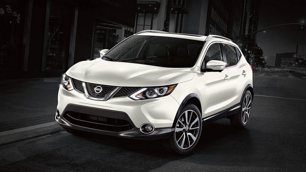 The 2018 Nissan Rogue Sport.
