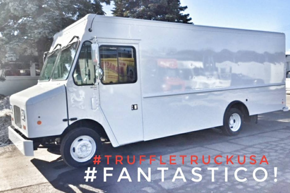 This image from The Truffle Truck's Facebook page shows the company's first vehicle. It will be customized at a shop in Westbrook.   Courtesy of The Truffle Truck