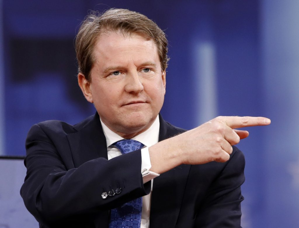 White House counsel Don McGahn has issued at least 37 ethics waivers to key administration officials at the White House and executive branch agencies. Associated Press/Jacquelyn Martin