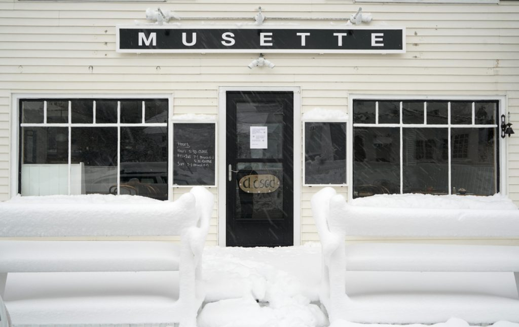 Musette is in the building formerly occupied by The Wayfarer in Cape Porpoise.