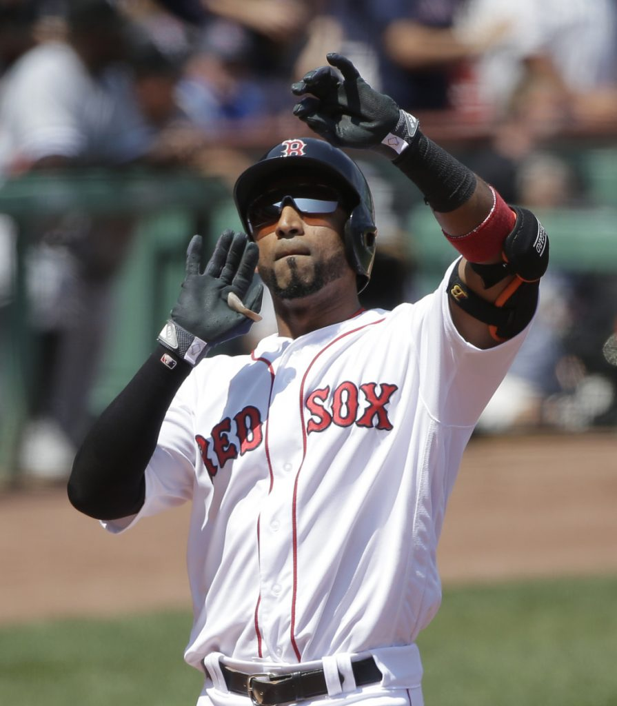 "Eduardo Nunez brought an aggressive offensive approach that helped the Red Sox thrive late last season. ""He was a different dynamic – he brough energy at the plate,"" Red Sox Manager Alex Cora said."
