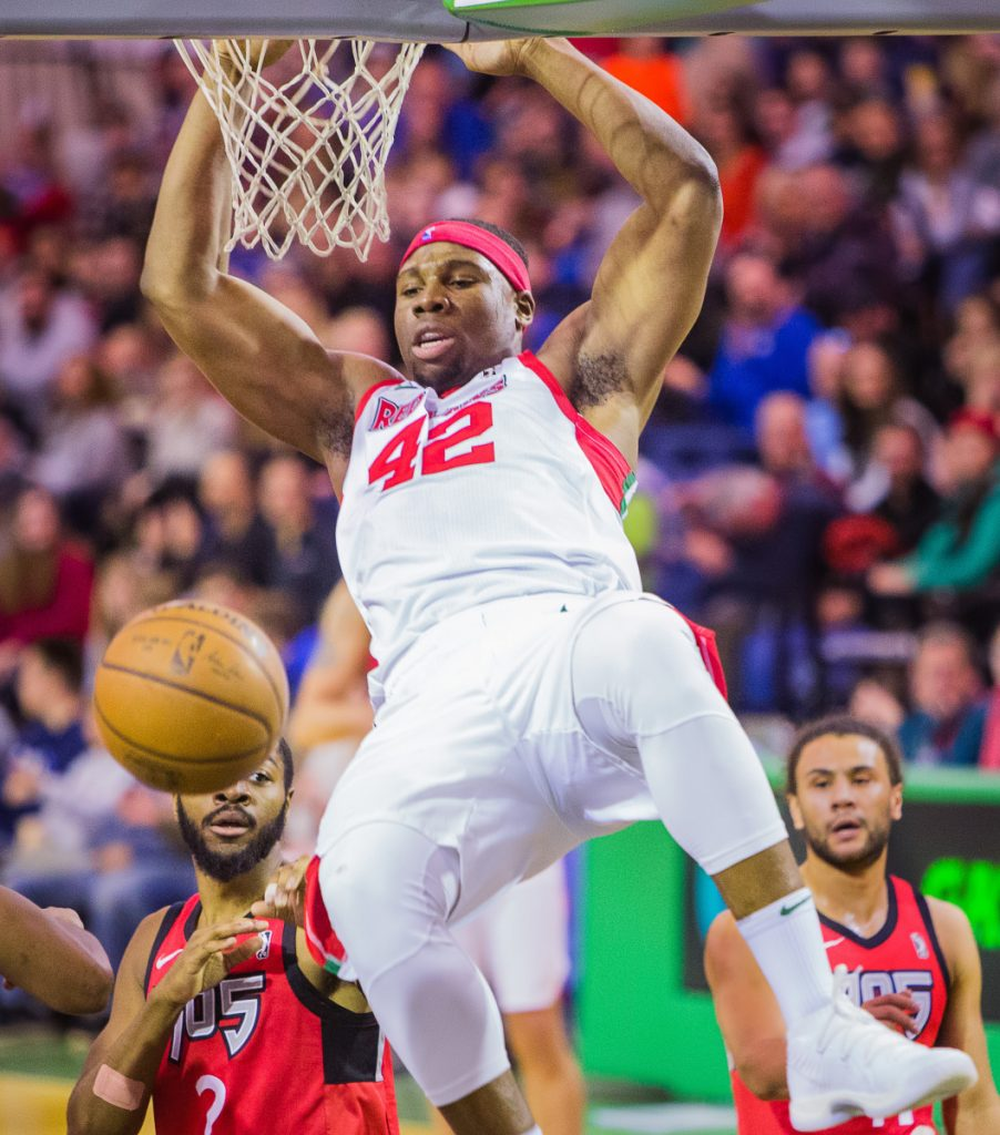Guerschon Yabusele has been a fan favorite for the Maine Red Claws, and he could provide the Boston Celtics with some depth as injured players work their way back.