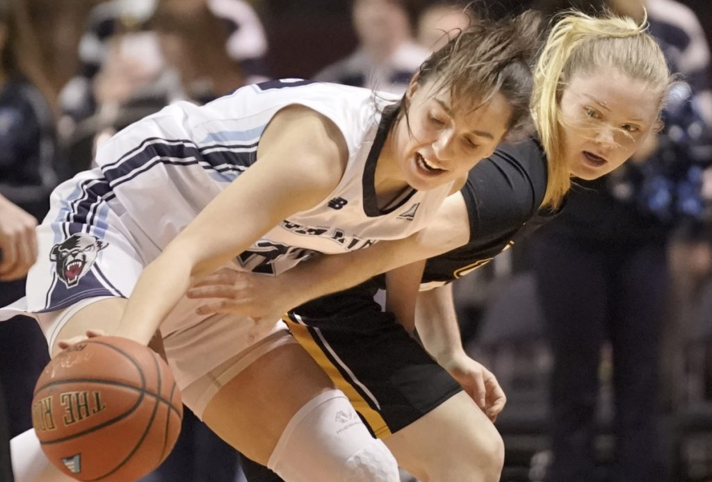 University of Maine sophomore Blanca Millan, the leading scorer for the Black Bears, decided to stay with the team after last season when two fellow freshmen from Spain decided to transfer.