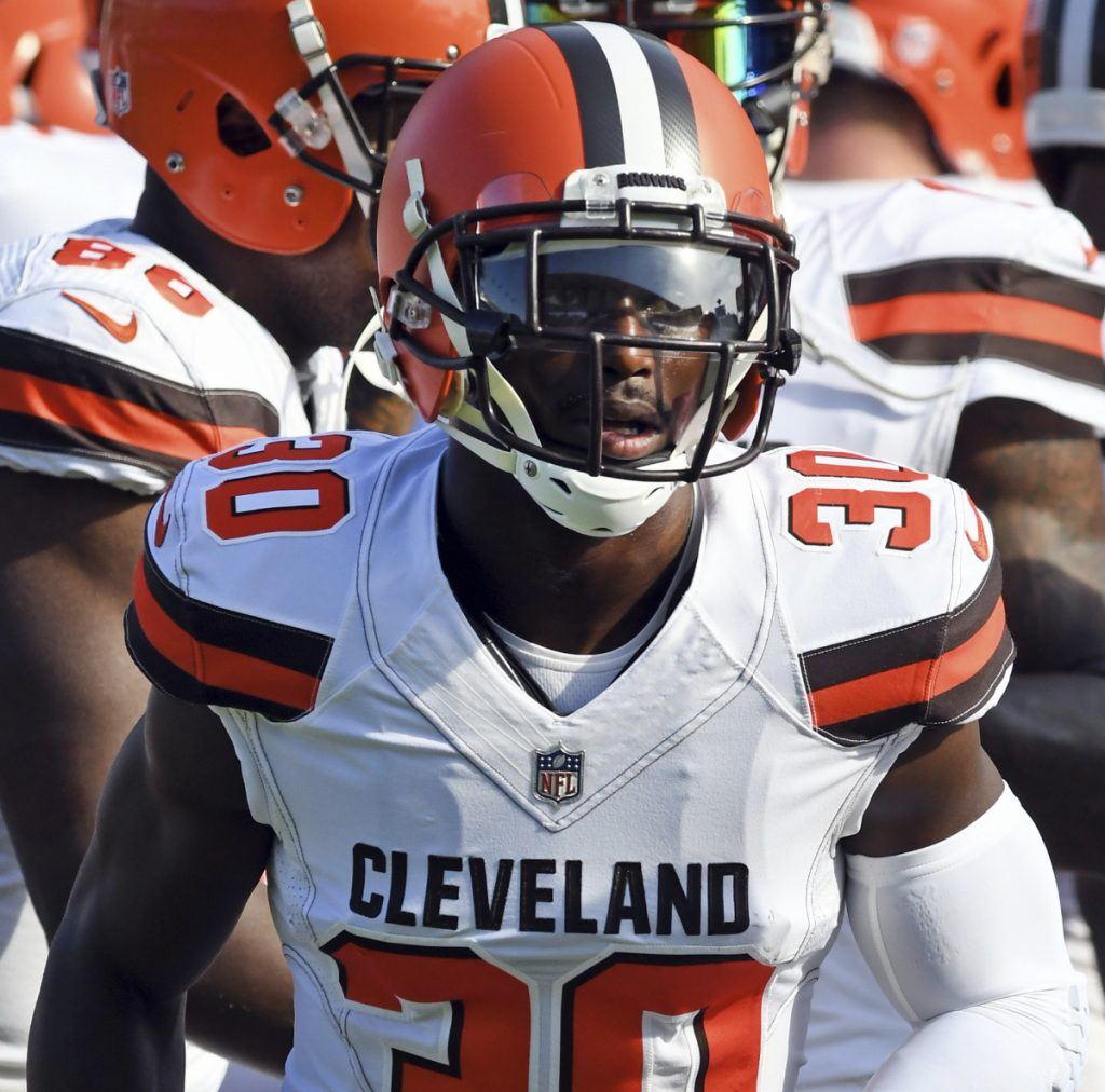 The Patriots traded with the Browns for cornerback Jason McCourty, who will be in the same secondary as his twin brother, Devin.
