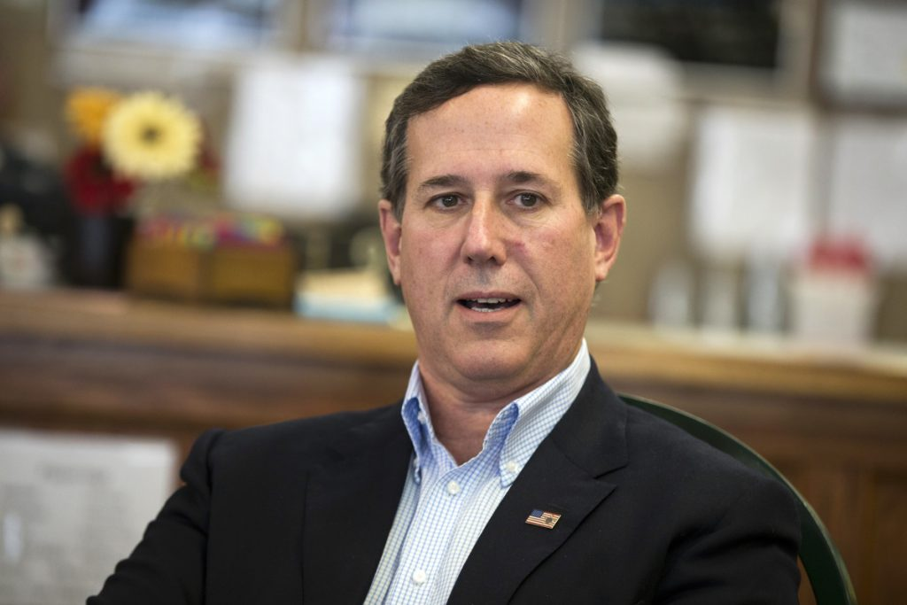 On Sunday, former Pennsylvania Sen. Rick Santorum said students who are rallying for gun control should instead learn CPR to help protect their classmates during a school shooting.