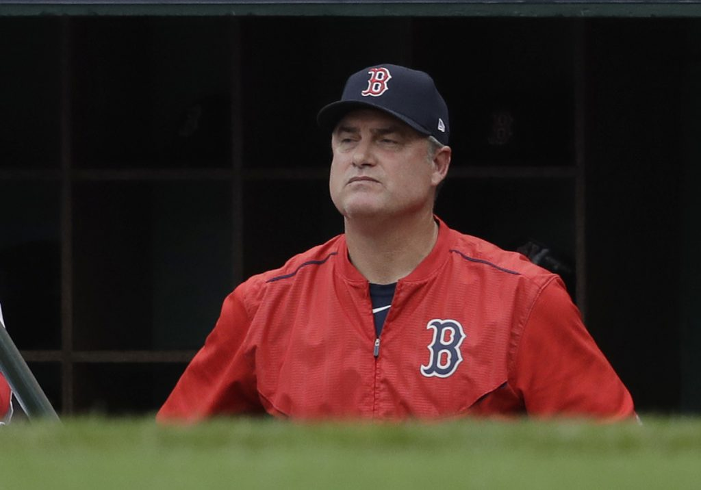 Former Boston Red Sox manager John Farrell was one of three to be fired after reaching the playoffs last season.