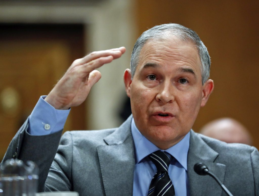 Associated Press/Pablo Martinez Monsivais Environmental Protection Agency administrator Scott Pruitt has been under pressure for his frequent taxpayer-funded travel.