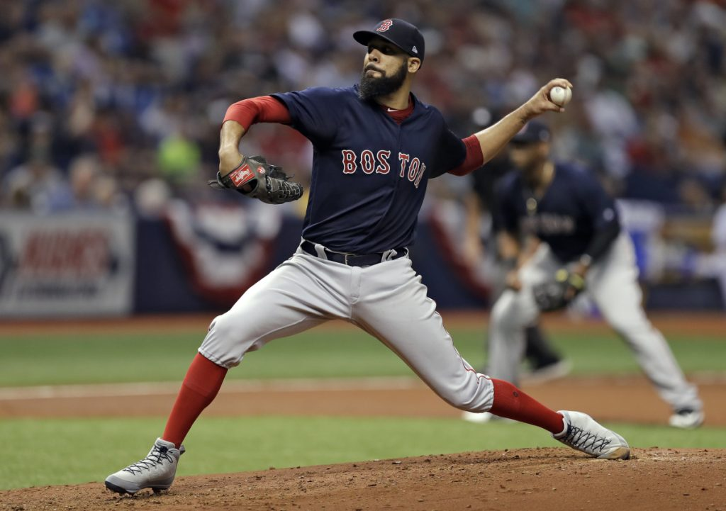 David Price pitched seven shutout innings, allowing four hits, while walking none and striking out five to lift the Red Sox to a 1-0 win over Tampa Bay on Friday in St. Petersburg, Fla.