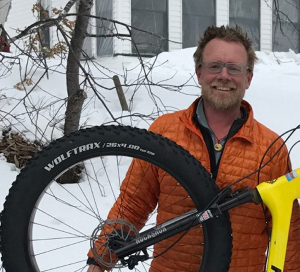 The Fat Bike Race winner was Chris Riley.