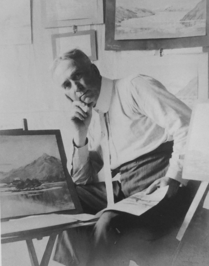 Theodore J. Richardson was born in Readfield in 1855. He was a pioneer artist in Alaska, starting in 1884. Richardson is one of many local authors and artisans from the past who will be discussed in a presentation on March 21 in Readfield.