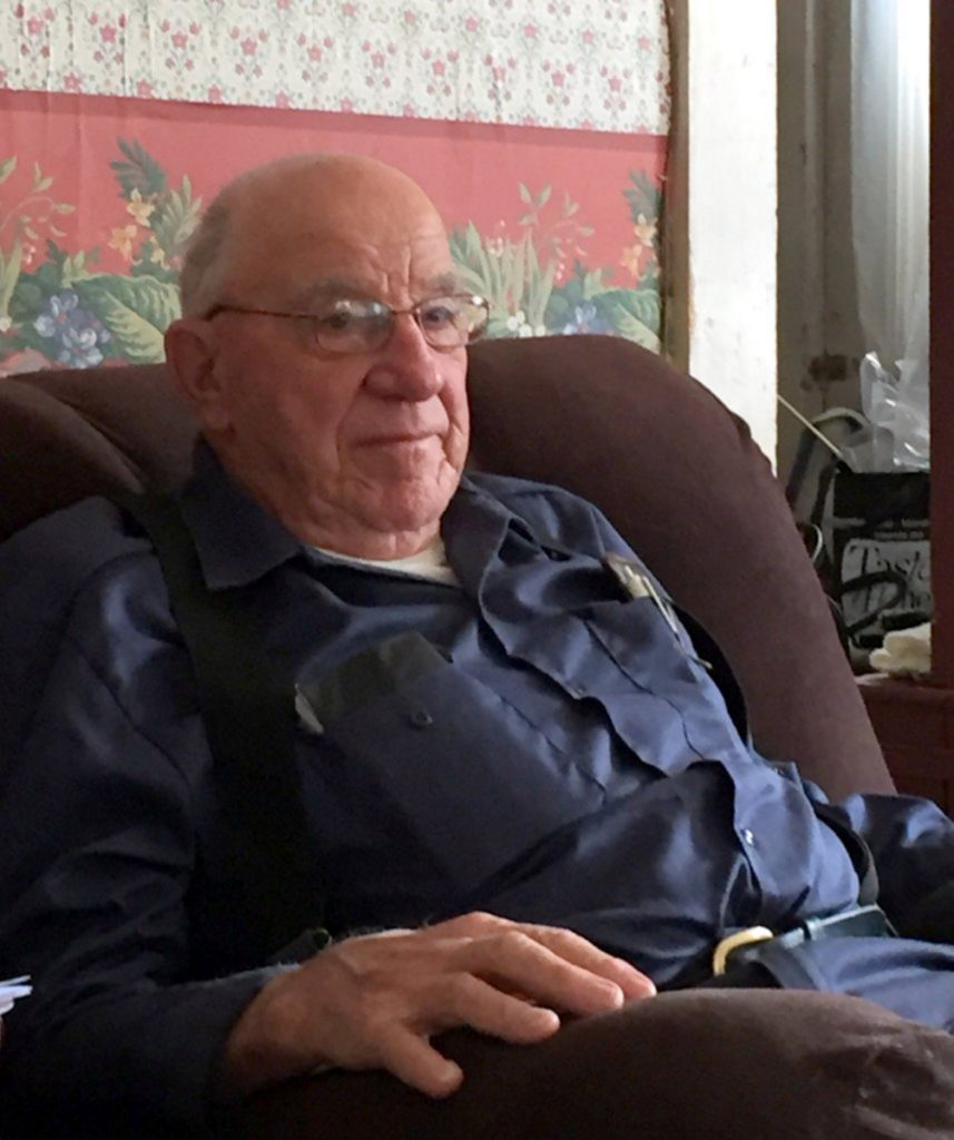 Chesterville's town report is dedicated to George Barker. He served as a selectman from 1972 to 1987, worked for the Public Works Department and served on the Fire Department.