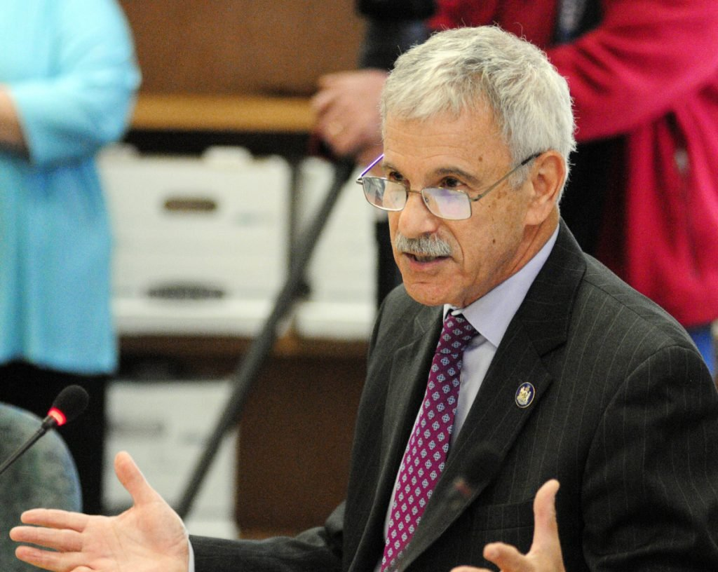 Roger Katz, an attorney with the Augusta law firm Lipman & Katz and a Republican state senator, said in a presentation Tuesday to Kennebec County commissioners that a state lawsuit alleges pharmaceutical makers and distributors withheld critical information about the addictive properties of their opioid painkillers. Commissioners voted to join the lawsuit.