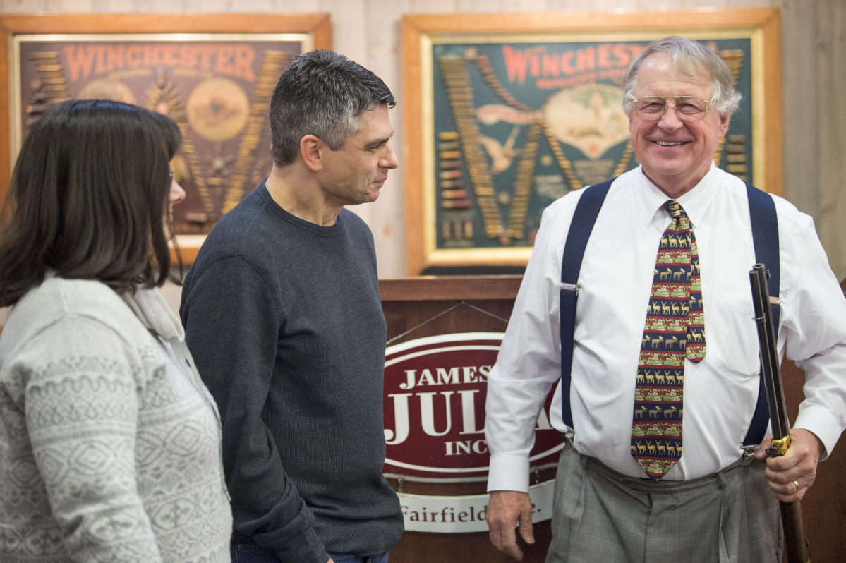 Last Gavel Comes Down At James Julia Auctions House With Sale Of Rifle