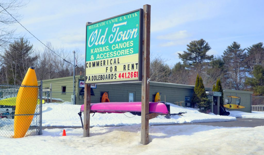 Belgrade Canoe and Kayak at 1005 Augusta Road — Route 27 — in Belgrade, seen Friday, is being advertised for sale after the town foreclosed on it for failure to pay property taxes.