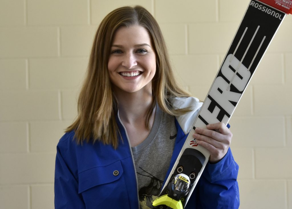 Mt. Blue junior Ellie Pelletier is Morning Sentinel Girls Alpine Skier of the Year.