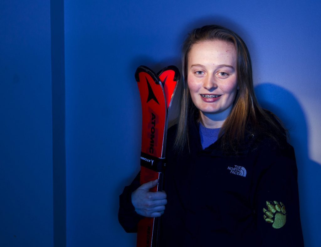 Maranacook sophomore Katie Ide is the Kennebec Journal Girls Alpine Skier of the Year.