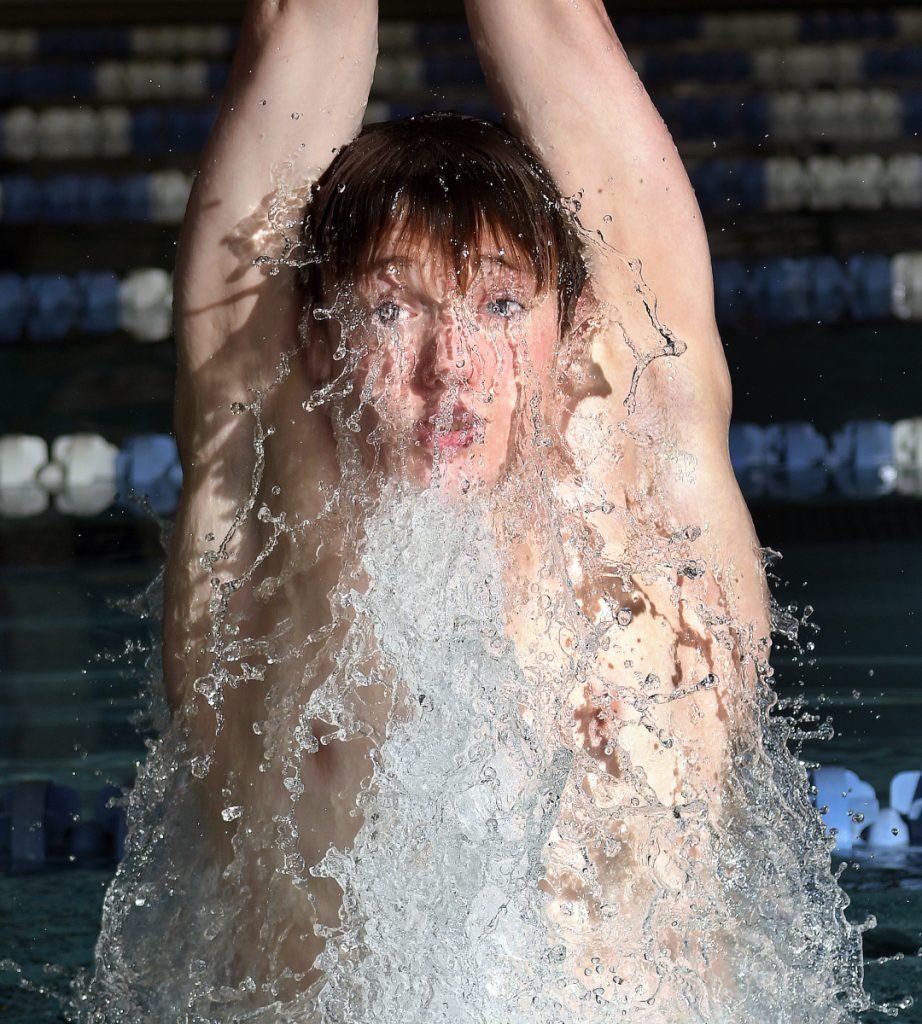 Cony's Nathan Berry is the Kennebec Journal/Morning Sentinel Boys Swimmer of the Year.