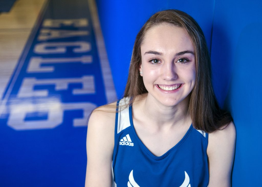 Erskine Academy distance runner Kaylee Porter is the Kennebec Journal and Morning Sentinel Girls Indoor Track and Field Athlete of the Year.