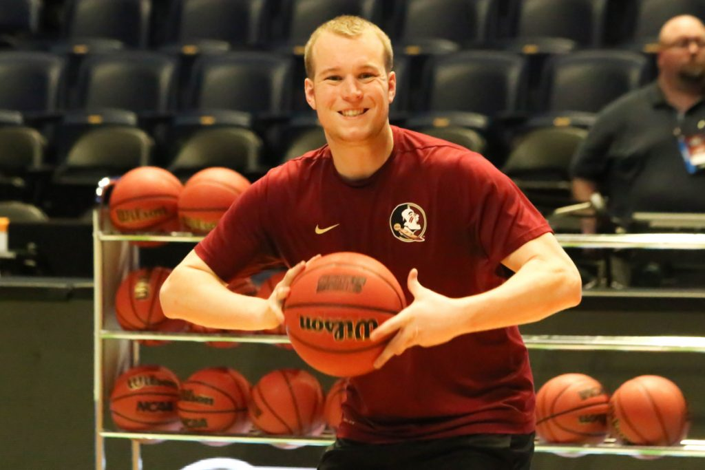 Keith Chesley has had an impressive start to his basketball coaching career, working as a graduate assistant with the Florida State men's basketball program. Chesley is a Clinton native and former University of Maine at Augusta player.