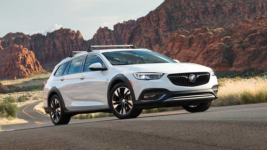 Buick's 2018 Buick Regal TourX sport wagon is handsome and practical.