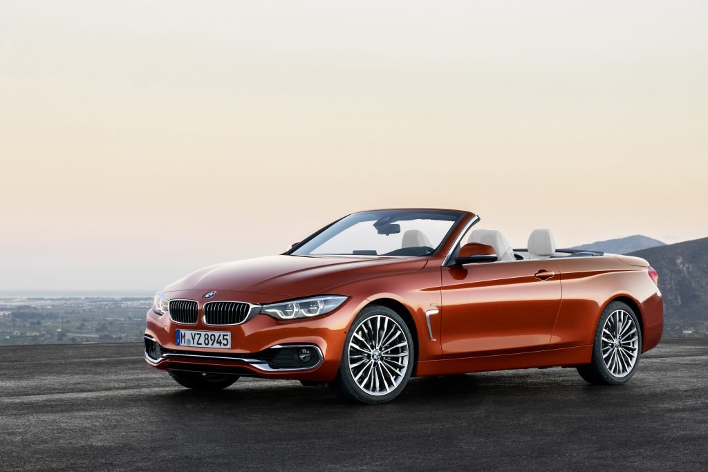 The BMW 430i Convertible offers classically conventional styling in the best BMW tradition.