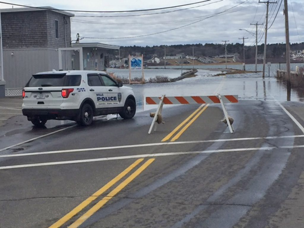 Nor easter leaves behind more coastal flooding in southern for Southern maine motors service