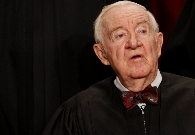 Supreme Court Associate Justice John Paul Stevens