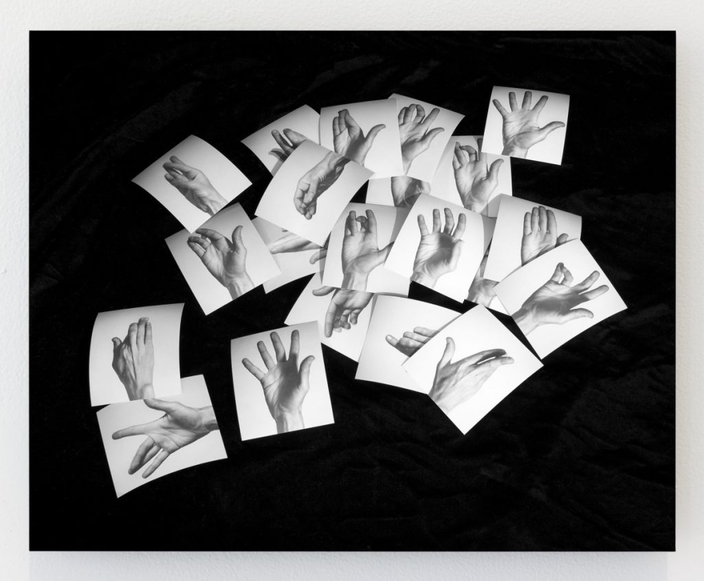 "Kate Greene, ""Yvonne's Hands,"" 2018, 8 by 10 inches."