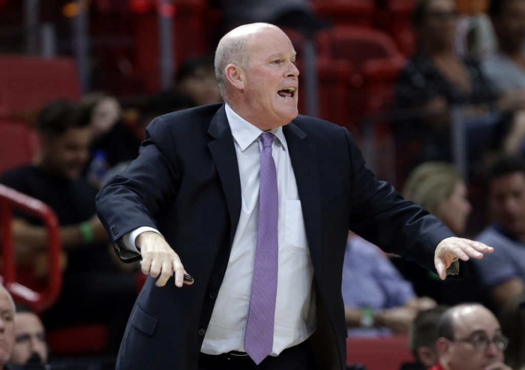 The Charlotte Hornets fired Steve Clifford on Friday after five seasons as the team's head coach. (AP Photo/Lynne Sladky)