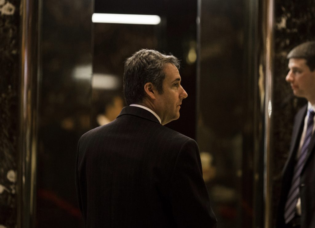 Federal prosecutors say in a court filing that the criminal probe that led them to raid the offices of Michael Cohen, Trump's personal lawyer, is focused on Cohen's
