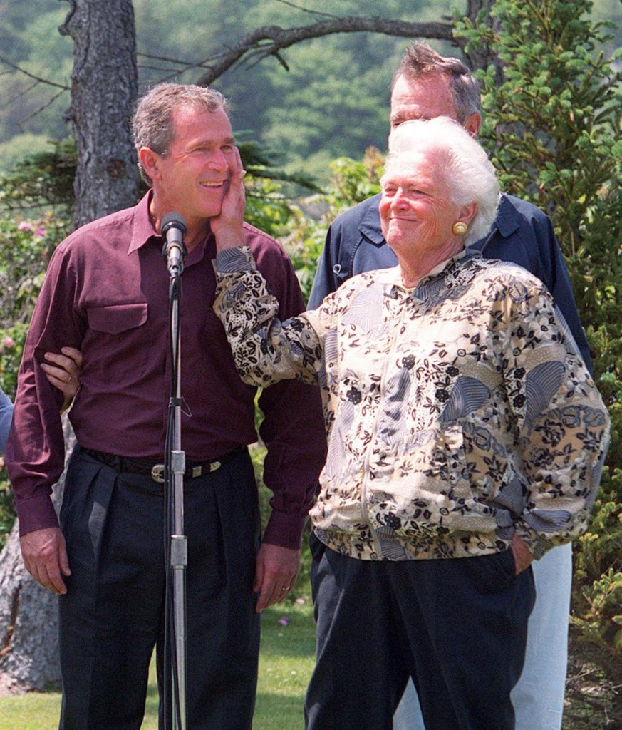 Barbara Bush Wife And Mother Of Presidents Champion Of