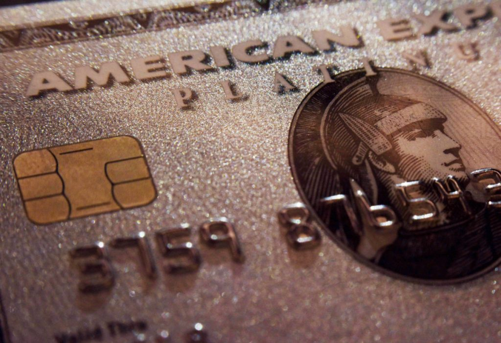 American Express' quarterly results beat expectations.
