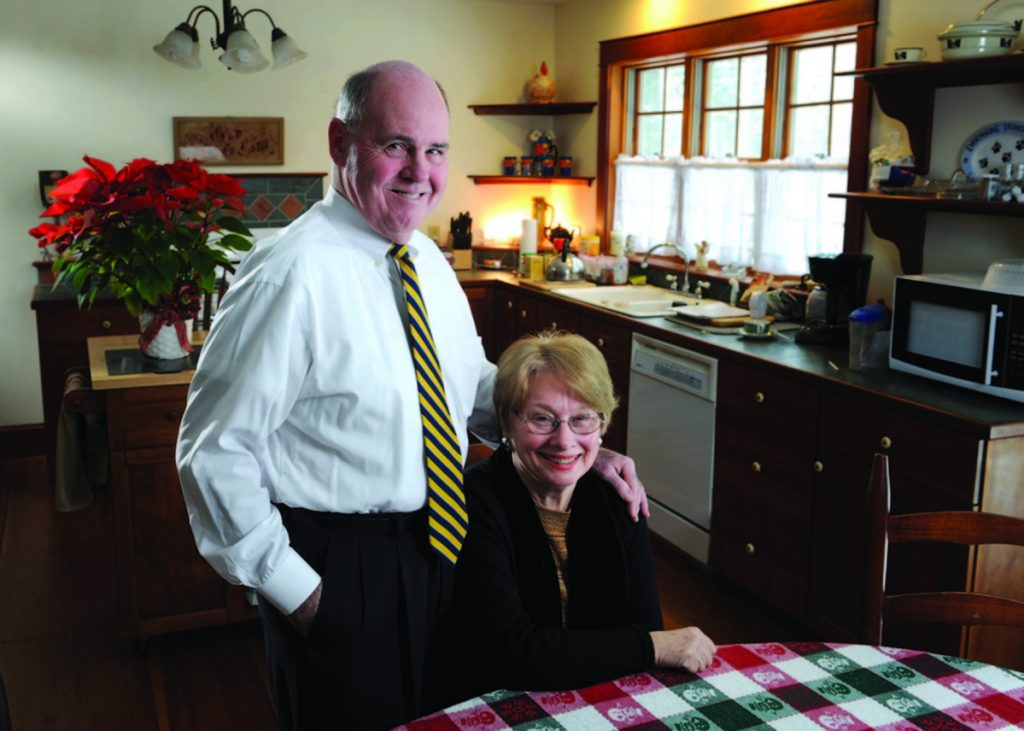 Over decades, Steve and Mary Ford contributed more than $3.5 million to Colby.