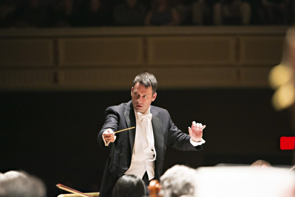 Robert Moody will conduct his final symphony in Portland on May 1 after serving as music director for 10 years. His last concert will be dedicated to Gustav Mahler's