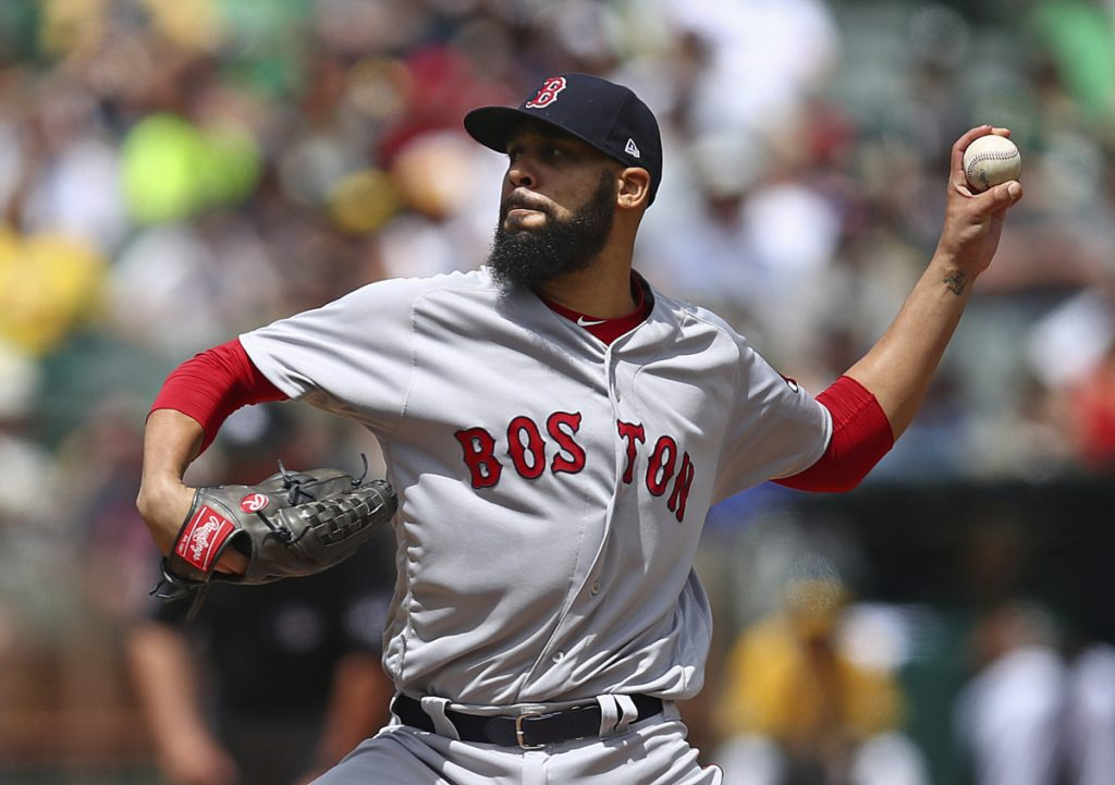 Red Sox pitcher David Price was sharp through seven innings, but gave up a three-run home run in the eighth and Boston lost Sunday in Oakland, 4-1.