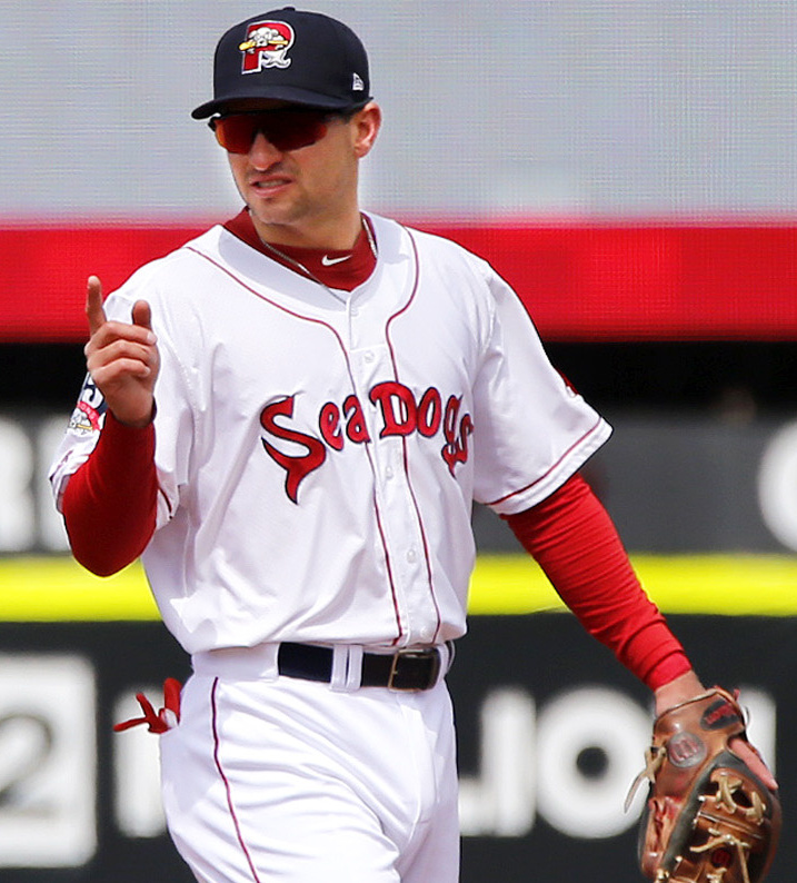 Nick Lovullo, the son of Diamondbacks Manager Torey Lovullo, saw Hadlock Field at age 11. Now he plays there.