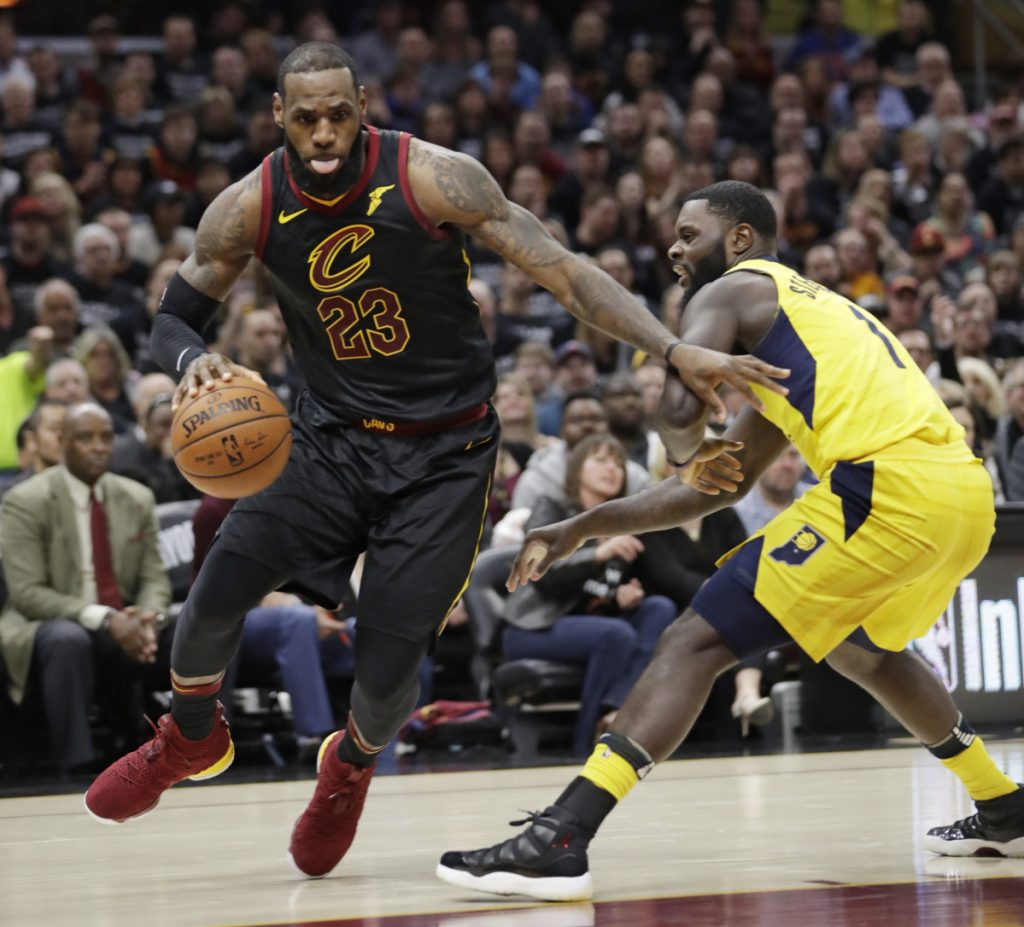 LeBron James of the Cleveland Cavaliers said Sunday he was burned out after a Game 7 victory over the Indiana Pacers.