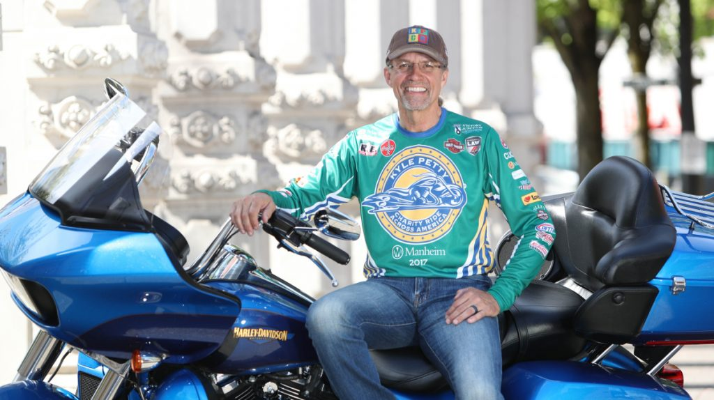 Since Kyle Petty started his annual charity ride in 1995, more than $18 million has been raised for the Victory Junction camp.