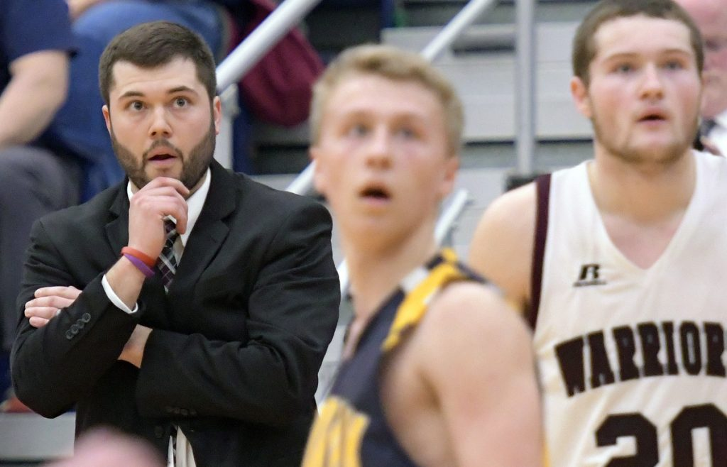 Nokomis' Ryan Martin is the Morning Sentinel Boys Basketball Coach of the Year.