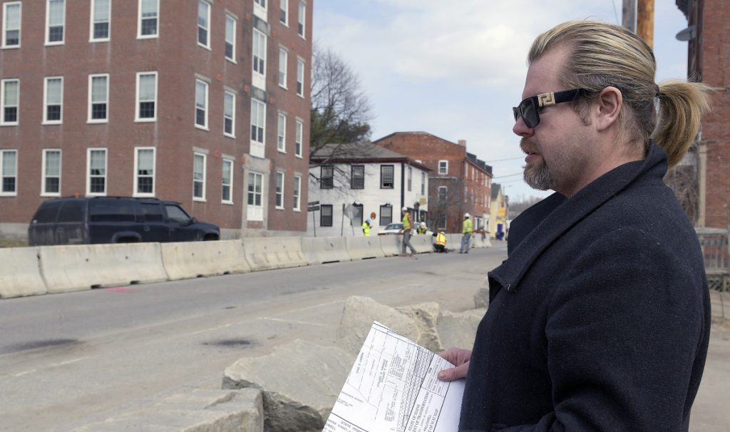 Detours Grow In Hallowell As Residents Business Owners Navigate Road Work