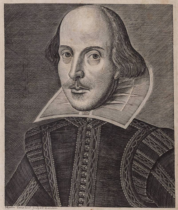 Shakespeare: the Droeshout portrait