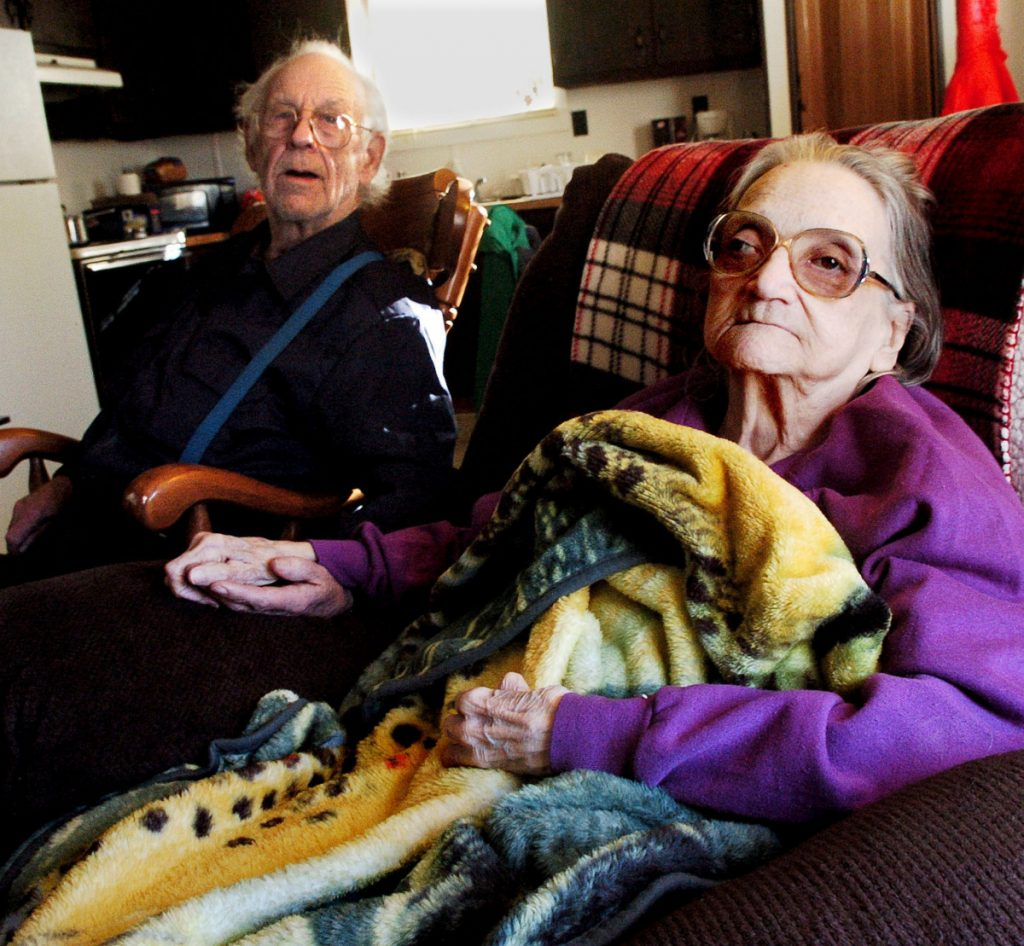 Richard and Leonette Sukeforth lived in Holden with their daughter after they were evicted from their home in Albion in January 2017. The town foreclosed on the property in 2015 for non payment of taxes and sold the property. The couple now reside in a nursing home.