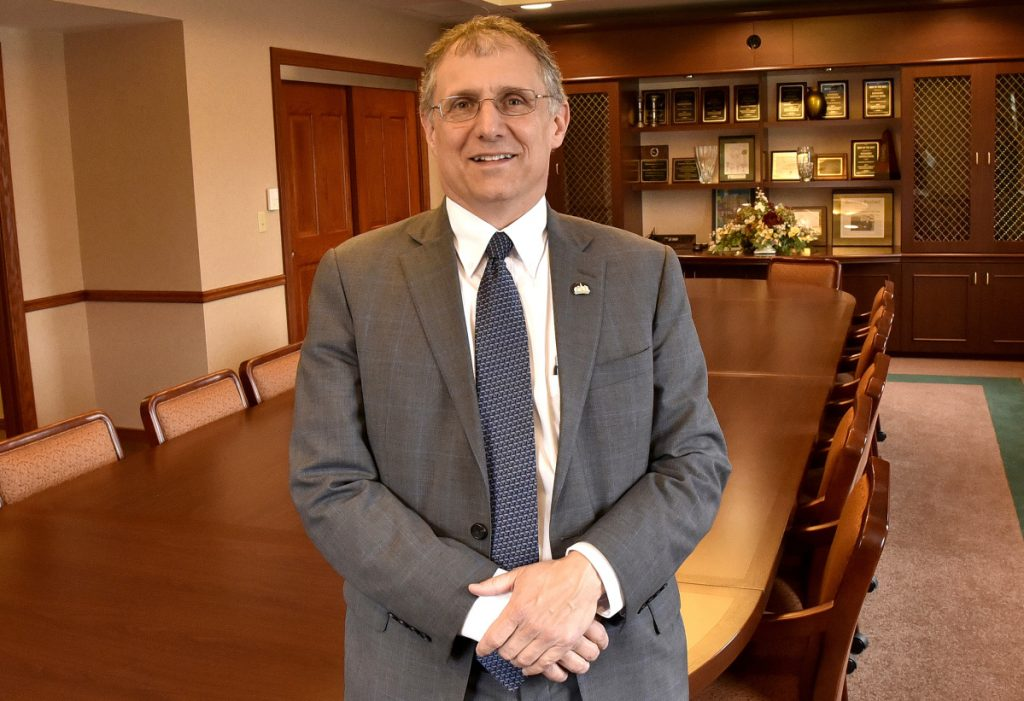 Dave Roy of Kennebec Savings Bank in Waterville will receive the 2018 Elias A. Joseph Award from the Mid-Maine Chamber of Commerce.