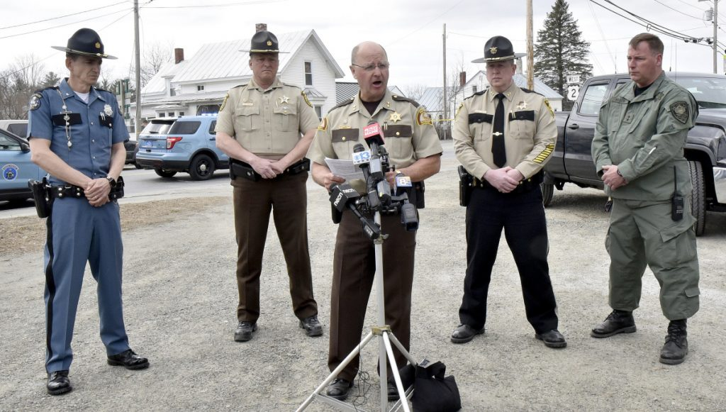 Manhunt For Suspected Cop Killer Leads To Standoff in Maine
